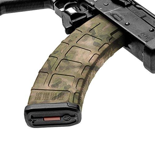 GunSkins AK-47 Mag Skin Camouflage Kit DIY Vinyl Magazine Wrap - Singles (A-TACS FG)