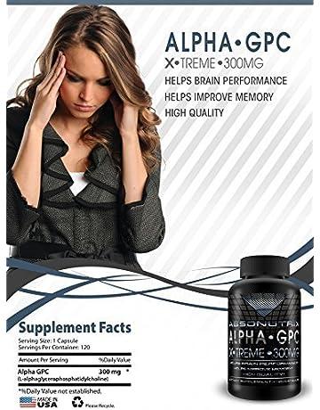 Absonutrix Alpha GPC Xtreme - 300mg - 60 cápsulas -los médicos Mejor,Colina,