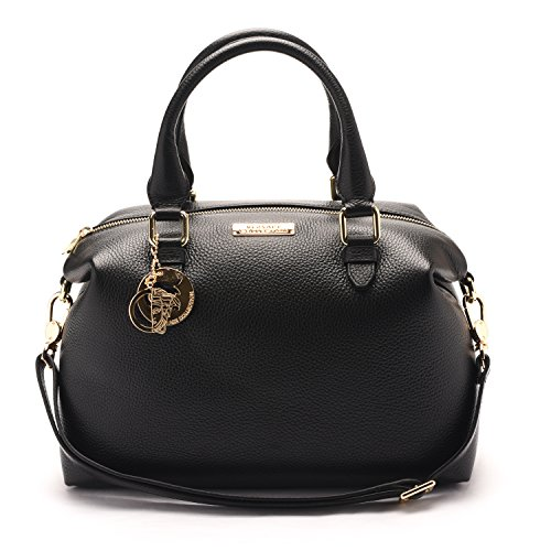 Versace Collections Pebbled Leather Shoulder product image