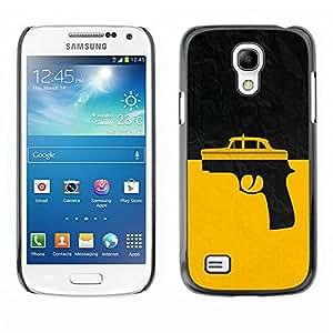 Paccase / SLIM PC / Aliminium Casa Carcasa Funda Case Cover para - Taxi Gun Taxi Driver - Samsung Galaxy S4 Mini i9190 MINI VERSION!