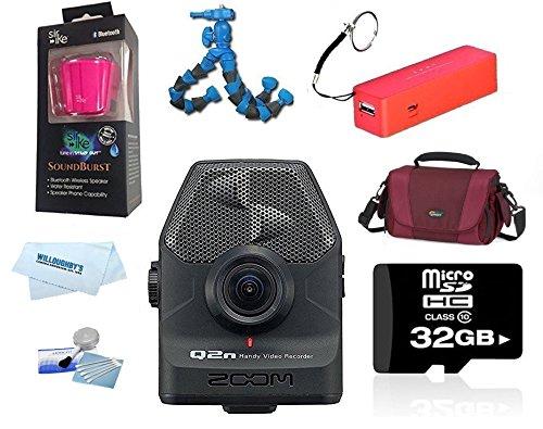 Zoom Q2n Zoom Handy Video Recorder - The YouTube Bundle