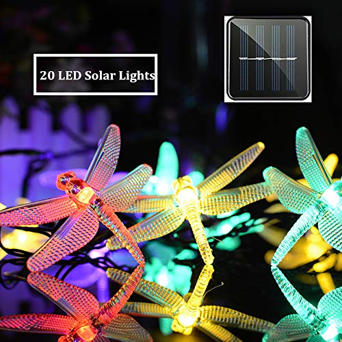 Dragonfly Outdoor String Lights in US - 8