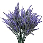 YSBER-Artificial-Flocked-Lavender-Bouquet-Fake-Flowers-Bunch-Bridal-Home-DIY-Floor-Garden-Office-Wedding-Decor-Purple