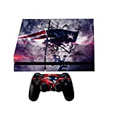 Cheap GamerGeekz® Playstation 4 Skin + 2 Ps4 Controller skins + Ps4 light bar decals Patriots 2017