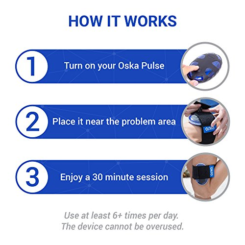 Portable Electromagnetic Pulse Therapy for Muscle Recovery, Reduce Inflammation, Muscle Stiffness and Joint Pain Reduction. Optimized PEMF by OSKA PULSE by OSKA (Image #3)