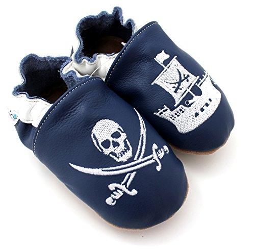Kivala - Chaussons souples antiderapants Pirate