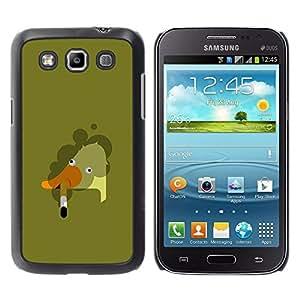 For Samsung Galaxy Win / I8550 / I8552 / Grand Quattro Case , Goose Smoking Art Bad Painting - Diseño Patrón Teléfono Caso Cubierta Case Bumper Duro Protección Case Cover Funda