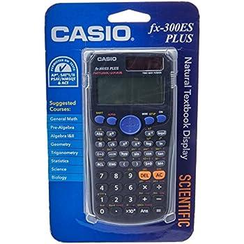 amazon com casio fx 300es plus scientific calculator black rh amazon com casio fx-300es plus scientific calculator instructions Scientific Calculator Casio FX 300Es Plus