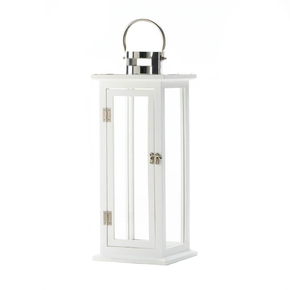 Gallery of Light Metal Lantern, Highland Large Decorative Floor Patio Rustic Outdoor Lantern