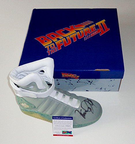 Michael J. Fox Signed Back To The Future Air Mag Sneaker Exact Proof P
