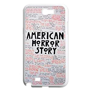 Custom Case for Samsung Galaxy Note 2 N7100 with Personalized Design American Horror Story