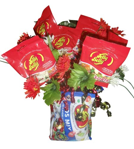 Jelly Belly ~ Jelly Bean Bouquet ~ Gourmet Gift Basket (Gift Bouquets)