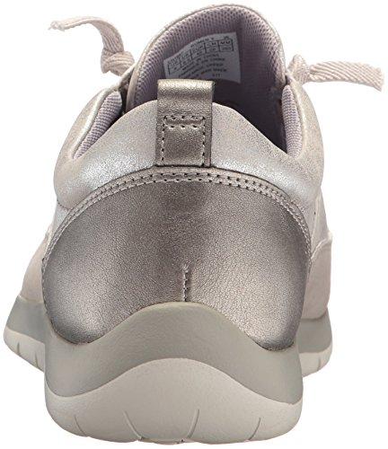 Sneaker In Argento Da Sposa Con Montatura Da Donna Aravon