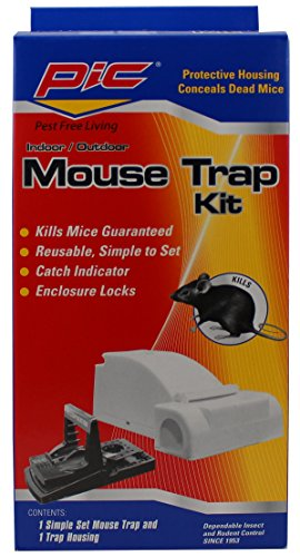 Mice Control Kit (Pic Reusable Housing Mouse Trap Kit)