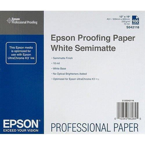 Epson Proofing Semi Matte Inkjet Photo Paper White 13