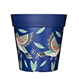 Hum Flowerpots Blue Birds Plant Pot, Indoor/Outdoor Planter