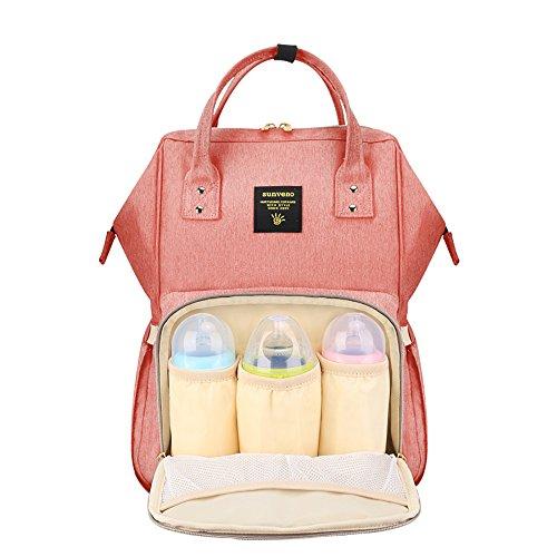 Wide Open Waterproof Baby Mommy Diaper Bag Backpack by Su...