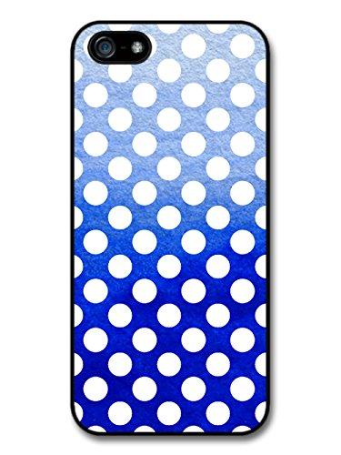 Polka Dots Cobalt Blue coque pour iPhone 5 5S