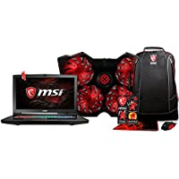 "XOTIC MSI GT73VR TITAN PRO-866 W / FREE BUNDLE! -17"" 4K Display 