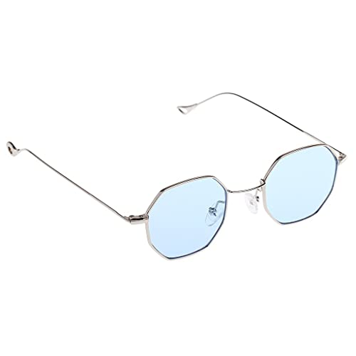 Gazechimp 1x Gafas de Sol Octagon Vendimia de Verano Protección UV400 para Hombre Mujer