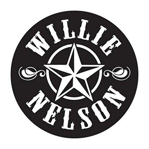 Willie Nelson Official Star Logo Sticker -
