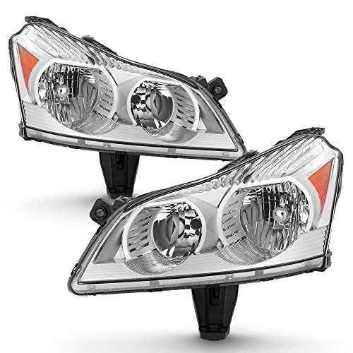 ACANII - For 2009 2010 2011 2012 Chevy Traverse LS & LT Model [OE Factory Style] Headlights Headlamps Driver + Passenger