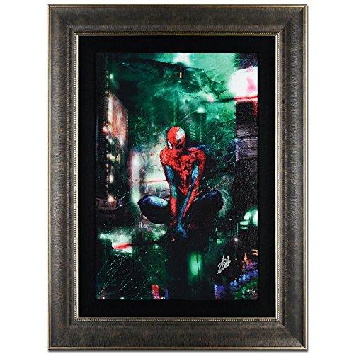 STAN LEE Signed Original Marvel Artwork Comic SPIDER-MAN FRAMED BLADE RUNNER fr.
