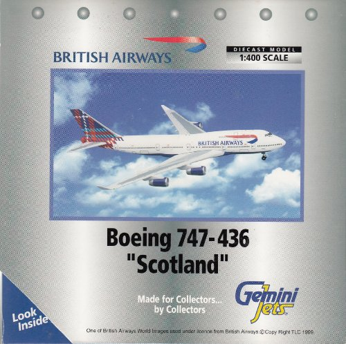 AIRCRAFT MODEL BRITISH AIRWAYS BOEING - Aircraft Airways Jet