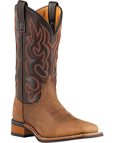 Laredo Mens Lodi Western Boot Taupe Chocolate 9 D Us