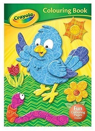 crayola colouring book bird - Crayola Coloring Book