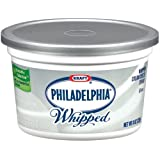 Kraft Philadelphia Whipped Plain Cream Cheese Spread, 8 Ounce -- 12 per case. by Philadelphia