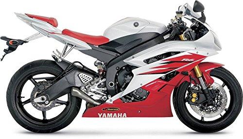 06-18 YAMAHA YZF-R6: Akrapovic Slip-On Exhaust - Megaphone (Titanium) ()