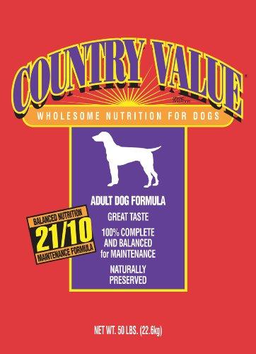 Country Value Dry Food for Adult Dogs, 50 Pound Bag