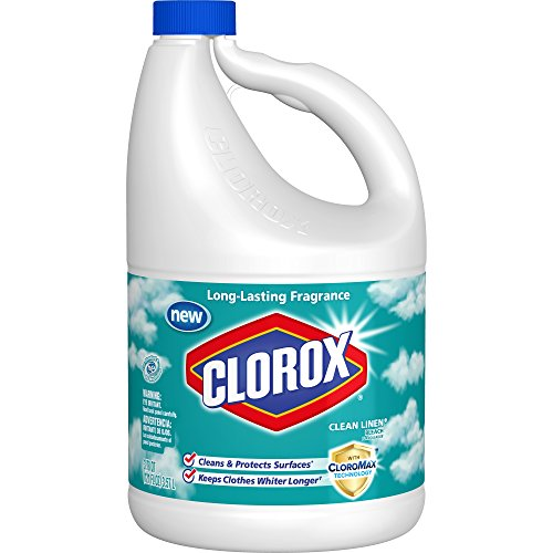 Clorox Bleach, Clean Linen Scent, 121 Ounces (Pack of 3) by Clorox