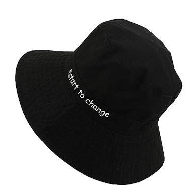 0934d1ad 🎈BIBICAT🎈 Women Reversible Bucket Hat UV Sun Protection Wide Brim Summer  Beach Hat Packable