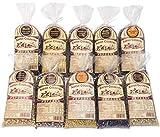 Amish Country Popcorn- 10 (1 Lb Bag) Variety Gift Set Bundle with Recipe Guide (Red, Blue, Medium White, Midnight Blue, Purple, Ladyfinger, Baby White, Rainbow, Extra Large Caramel Type, and Mushroom)