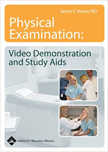 Physical Examination Video Demonstration And Study Aids On CD ROM