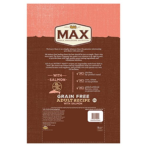 Nutro-MAX-Adult-Grain-Free-With-Salmon-Dry-Dog-Food-25-lbs