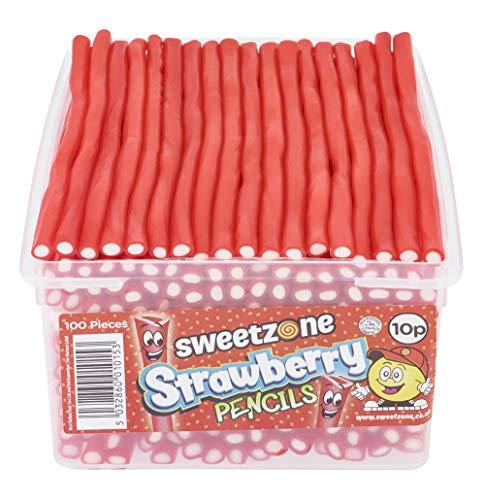 SweetZone 100% Halal Balla Stixx Erdbeere Candy ohne Schweinegelatine 1,1kg