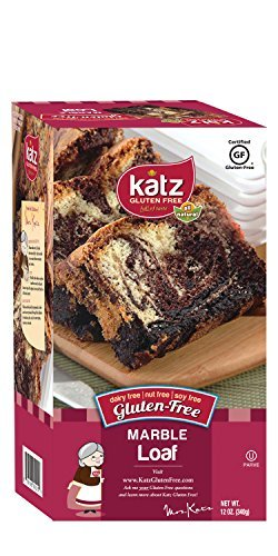 [Katz Gluten Free Marble Loaf, 12 Ounce, Certified Gluten Free - Kosher - Dairy, Soy, Nut free - (Pack of] (Milk Eggs Cheese Costume)