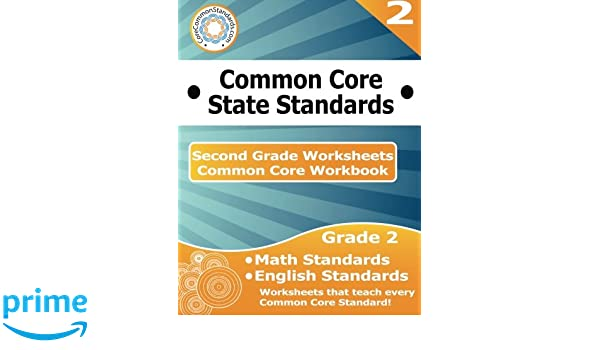 Second Grade Common Core Workbook: Worksheets: CoreCommonStandards ...