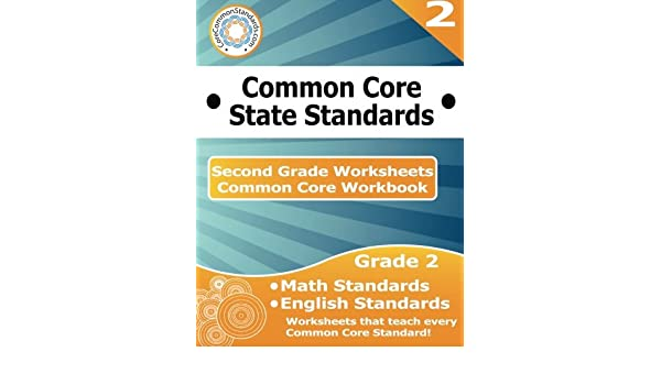 Second Grade Common Core Workbook Worksheets Corecommonstandards