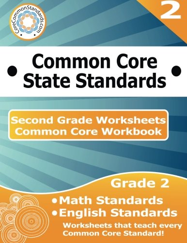 Second Grade Common Core Workbook: Worksheets