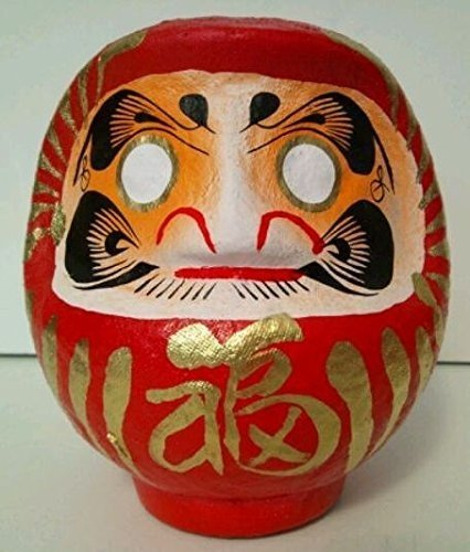 DARUMA - SIZE 2 - RED - SAFETY & SUCESS IN EVERY WAY JAPAN CRAFT