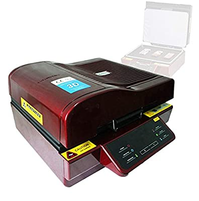 Denshine® 3D Sublimation Heat Press Machine for Phone Cases Mugs Cups Heat Transfer