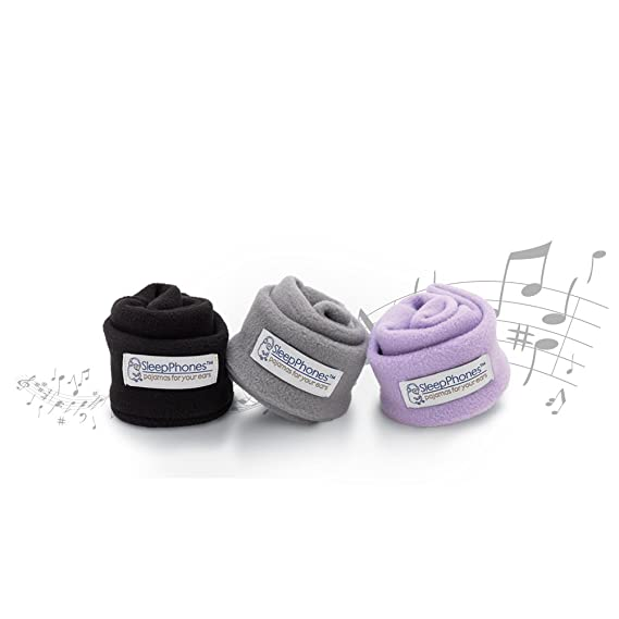 2b914d99e2b Amazon.com: AcousticSheep SleepPhones Classic | Corded Headphones Designed  for Sleep, Travel and More | Flat Speakers in a Comfortable Headband |  Midnight ...