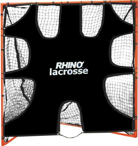 Champion Sports Lacrosse Goal Target: 6 x 6 Shooting Training Rhino Net Cover Blocker