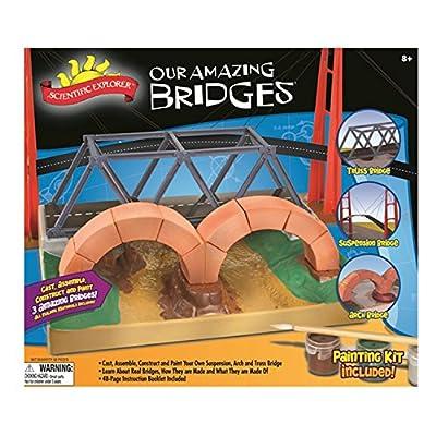 Scientific Explorer Our Amazing Bridges Model Building Kit: Toys & Games
