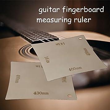 Instrument Guitar Fingerboard Arc Measuring Ruler Radius Gauges Stringed Instruments