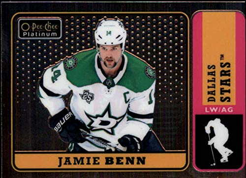 2018-19 O-Pee-Chee Platinum Retro #R-4 Jamie Benn Dallas Stars NHL Hockey Trading Card